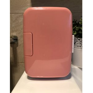 skincare-fridge-pink1